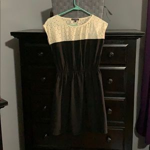 Black and ivory dress from BeBop
